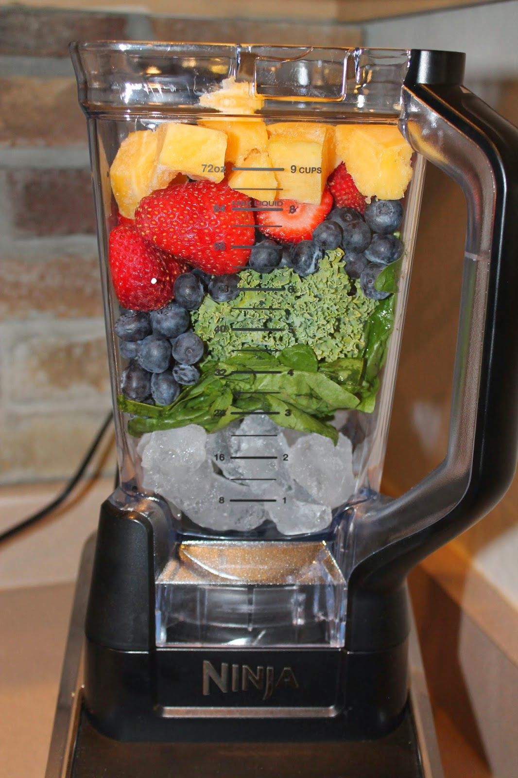 made it ate it loved it ninja blender review and 4 smoothie recipes healthy snacks. Black Bedroom Furniture Sets. Home Design Ideas