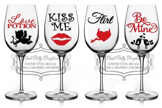 2 x Bee Mine Decal vinyl stickers for Mug Pint Glass Gift Valentines
