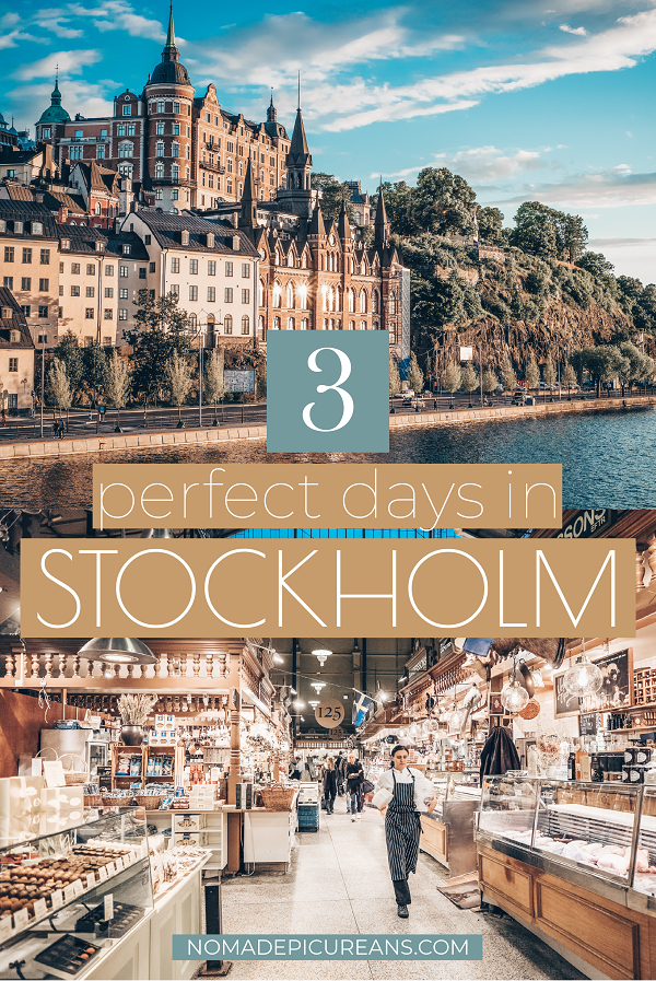 Got only a long week in Stockholm? Make the best of your 3 days in Stockholm with this detailed guide. Includes highlights as well as hidden gems. With fun facts and map! #sweden #europedestinations #traveldestinations
