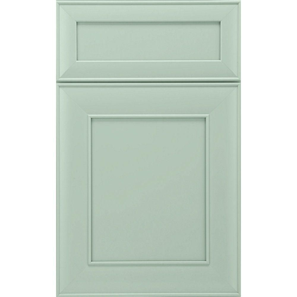 InnerMost 14x12 in. Madrid Maple Cabinet Door Sample in Bliss-MAD.MAP.BLS - The Home Depot