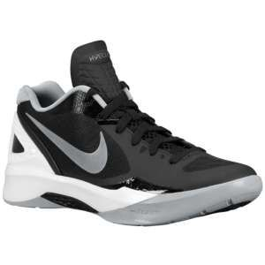 newest 0bb2f 27a52 Nike Zoom Hyperdunk 2011 Low - Men s - Basketball - Shoes - Black White Wolf  Grey Metallic Silver