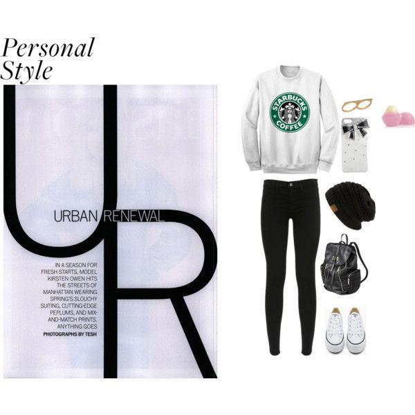 """Starbucks"" by estefania-03 on Polyvore"