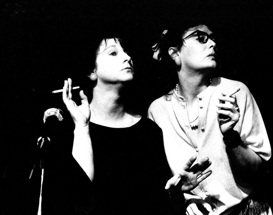 Lipstick and lights with Didi Hopkins The Drill  Hall Arts Centre 1986