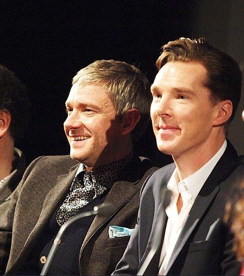 Benedict Cumberbatch & Martin Freeman Sherlock S3. These two fabulous men just won Emmies!!!