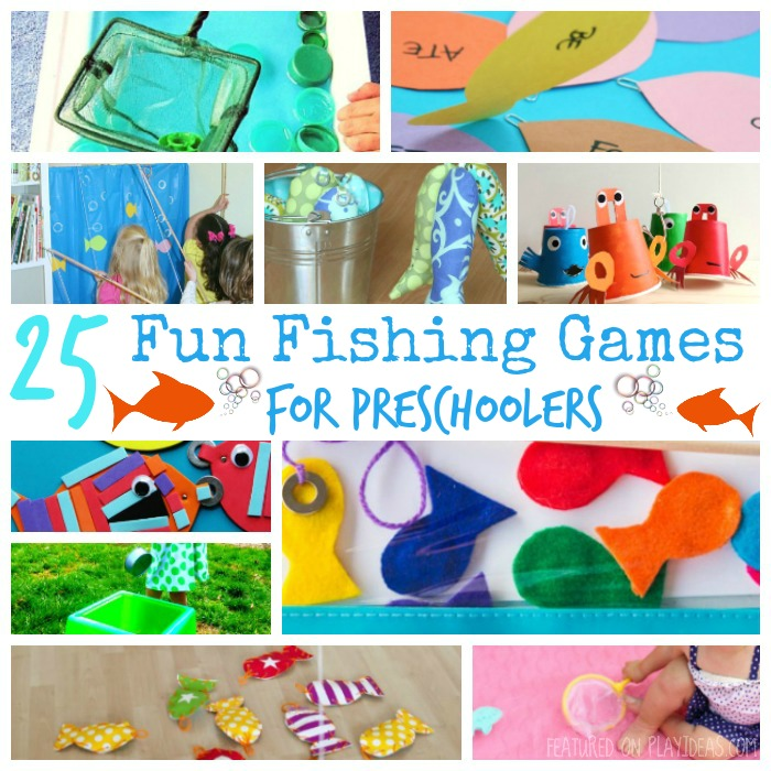 25 Fun Fishing Games For Preschoolers Fishing games for