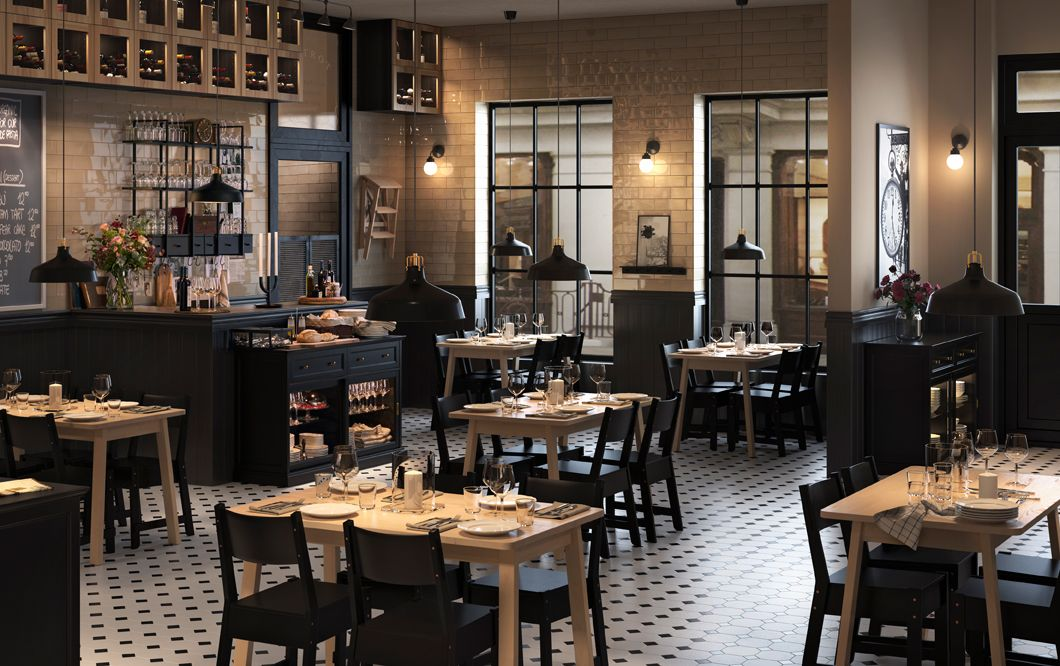 Ikea For Business Can Save You Time And Money Ikea Restaurant Restaurant Design Rustic Diy Interior Doors