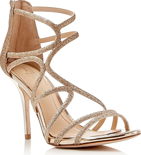 0db24765b7 Imagine Vince Camuto Women's Shoes in Gold Color. Start the party with  these sparkling strappy sandals by Imagine Vince Camuto, lifted with  mirror-shine ...