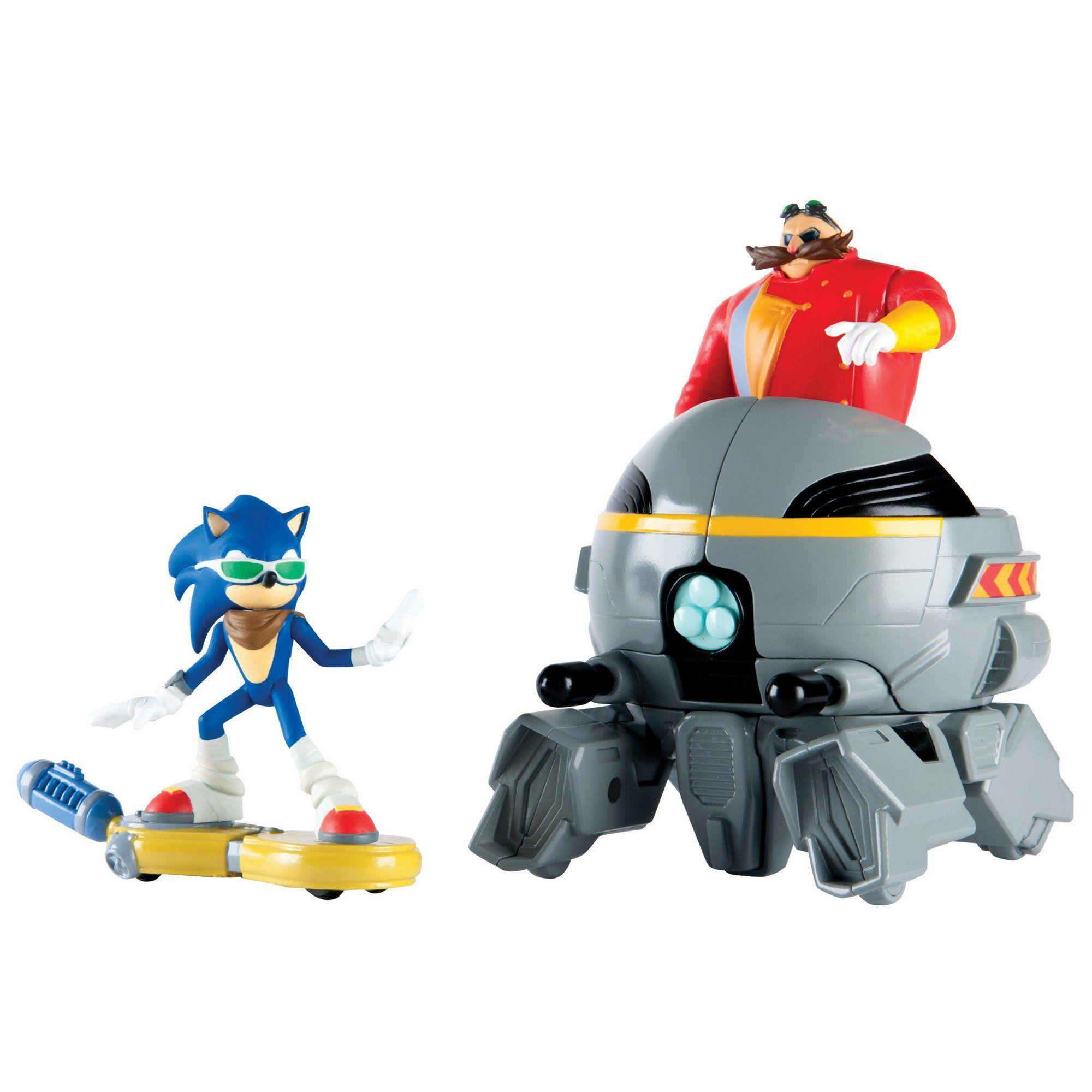 Amazon Com Sonic Boom Sonic Vs Eggman Set Toys Games Giftryapp Novidades Em Brinquedos Brinquedos Figuras