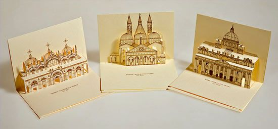 Origami Old Postcards Some Cool Example Of 3D Pop Up Postcard Design Ideas 30 Simple Creative