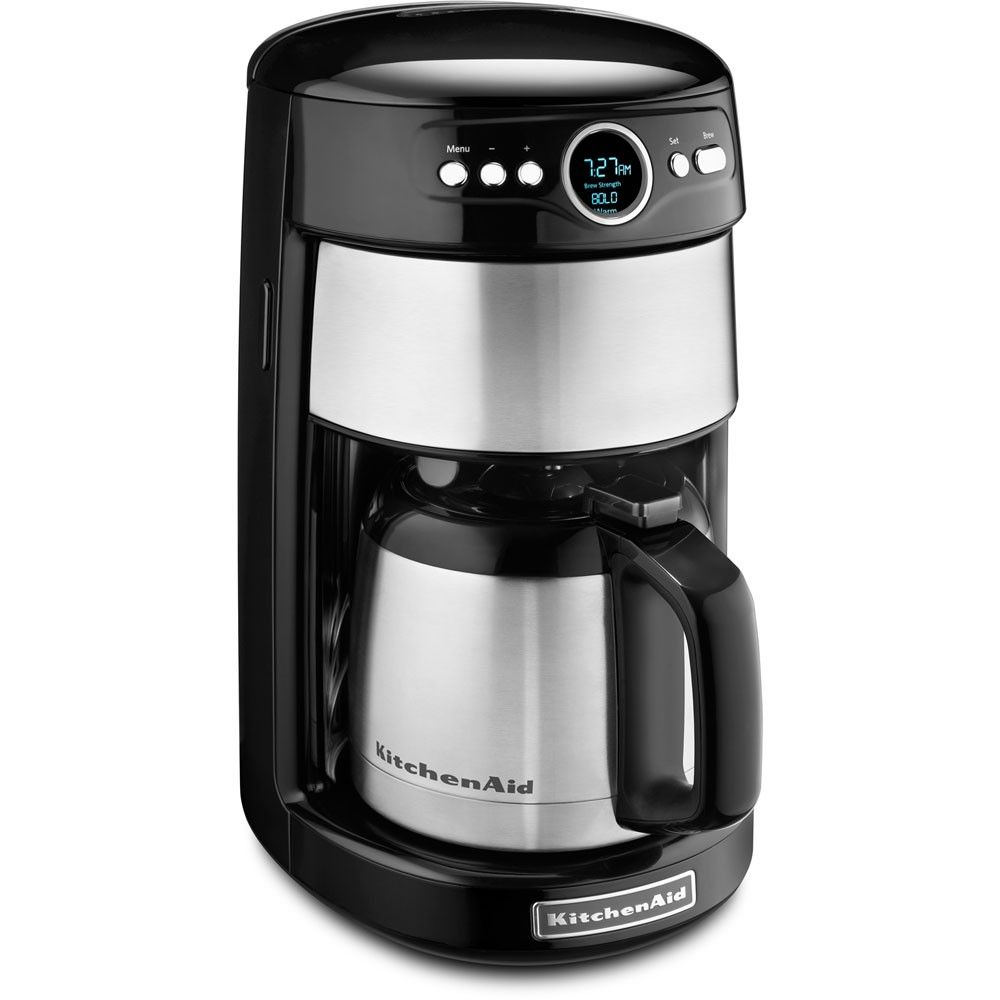 Kitchen aid 12cup programmable coffee maker thermal