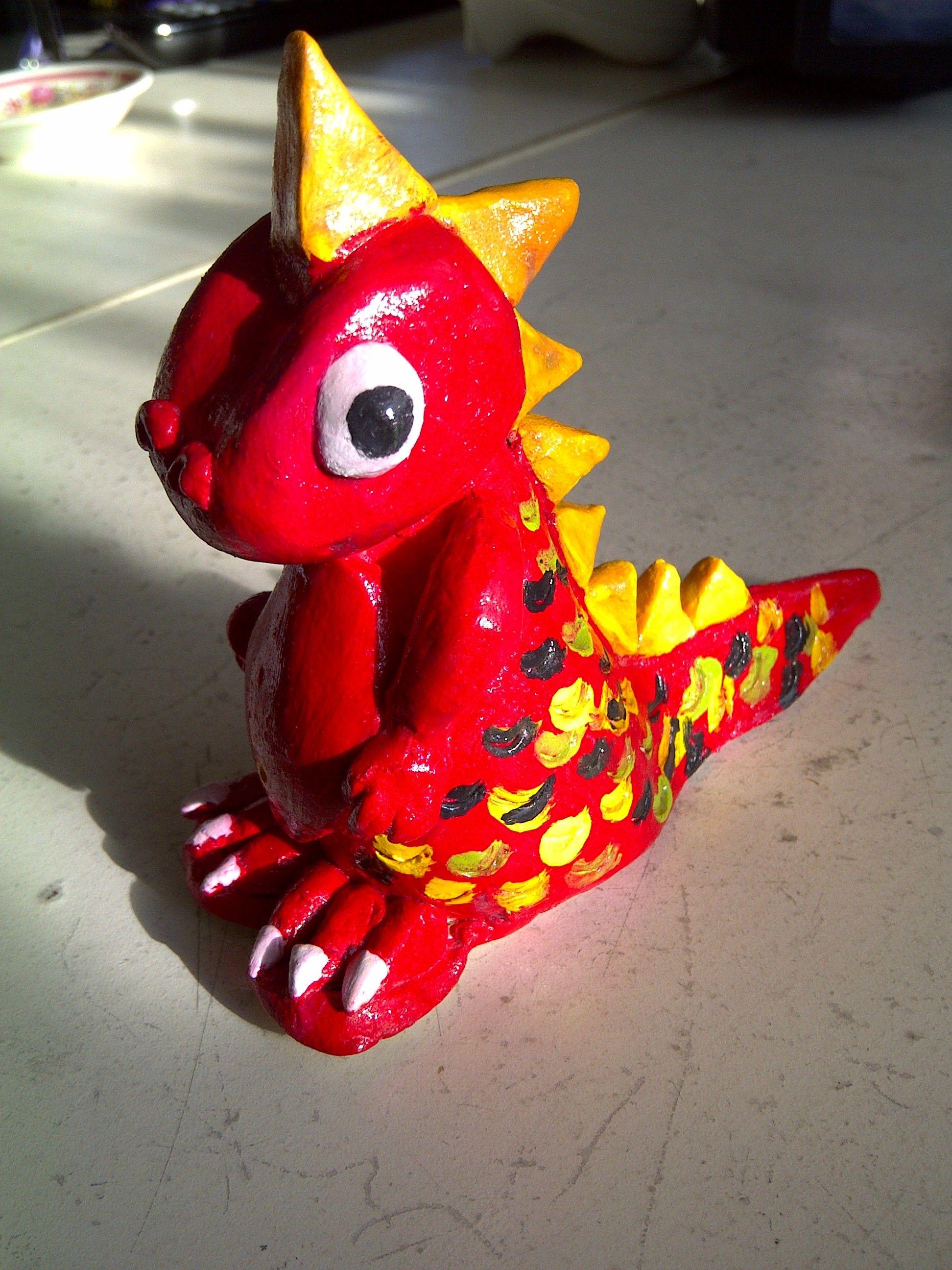 Clay Dinosaur | Art camp projects, Clay projects, Ceramics ...