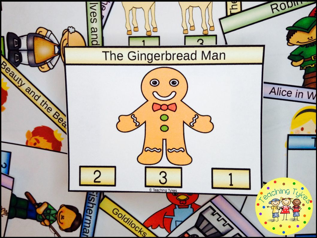 The Gingerbread Man Task Cards