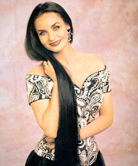Crystal Gayle Dont It Make Her Brown Eyes Blue Beautiful Long Hair Long Hair Styles Hair Fan