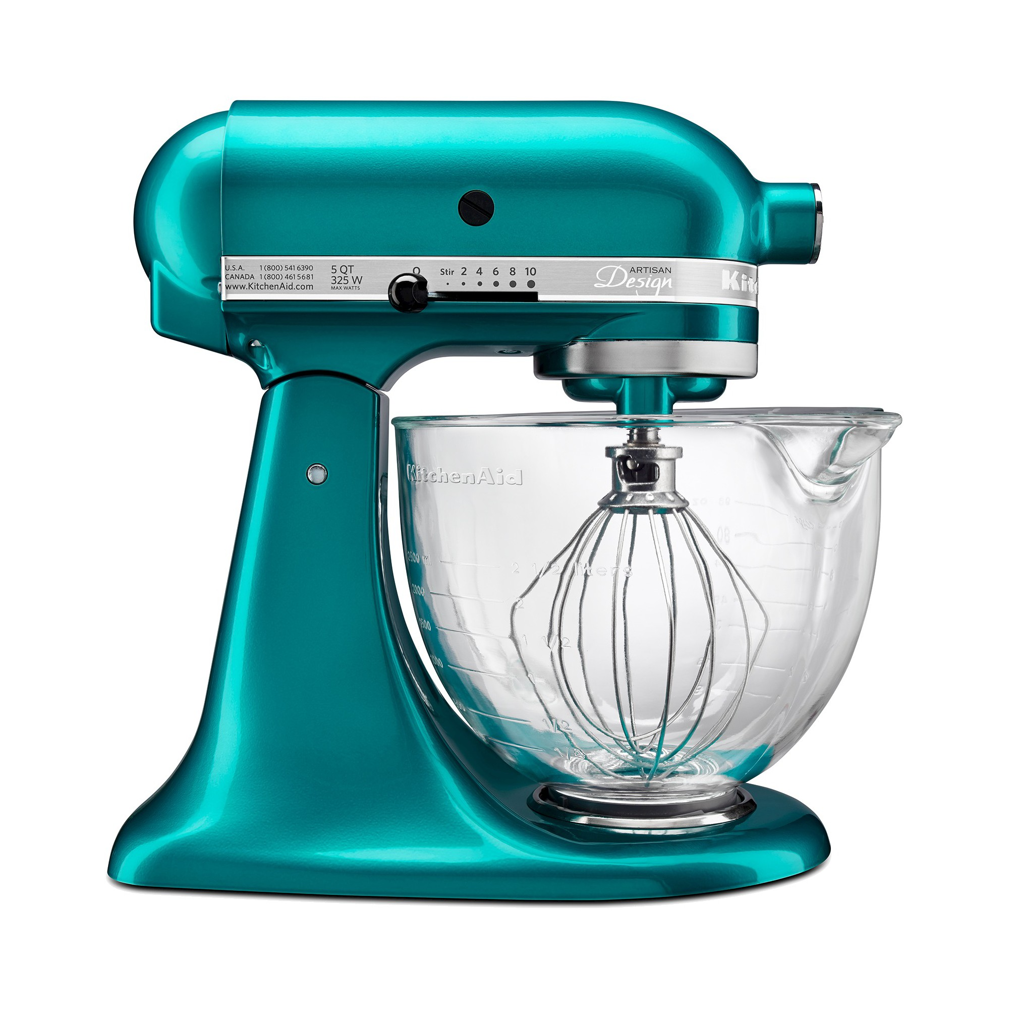 KitchenAid Artisan Design Series 5 Quart Tilt-Head Stand Mixer with ...