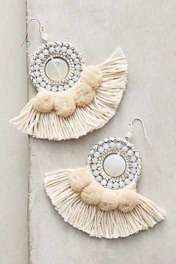 Textural Drop Earrings