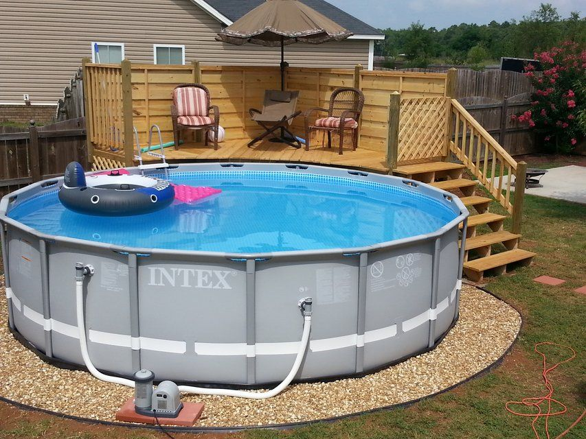 Decked Out & Fenced In in Warner Robins Backyard pool
