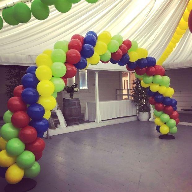 Rainbow Balloon Arch : #balloonarch #balloondecor #rainbow #rainbowtheme #balloons #balloondecorations #arch #olivetreecottage #tauranga #newzealand #Rainbow #Balloon #Arch #balloonarch
