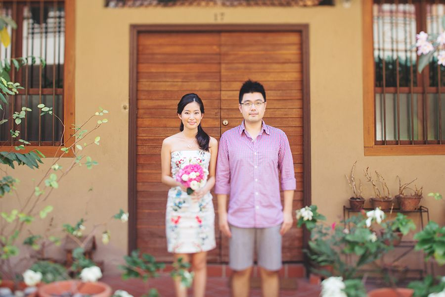 Home Is Where the Heart Is: John and Rui Ying's Engagement Session