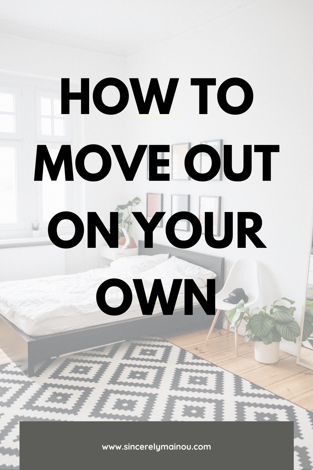 Moving out for the first time? How to move out on your own. Sharing some tips to help your move easier. What to think about when moving out. #apartmentliving #movingout