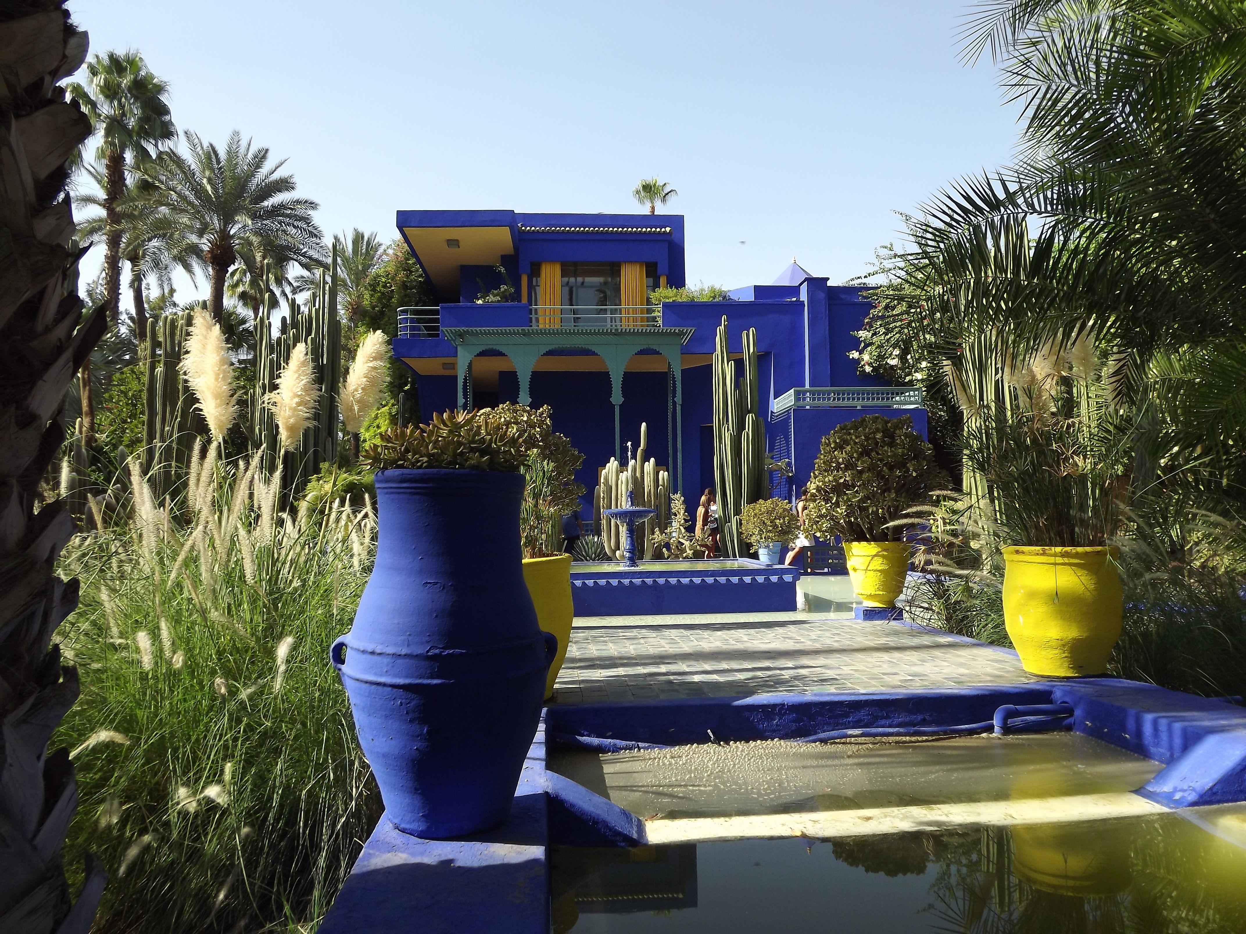 Majorelle Garten In Marrakesch Marrakesch Ausflug Marakesch