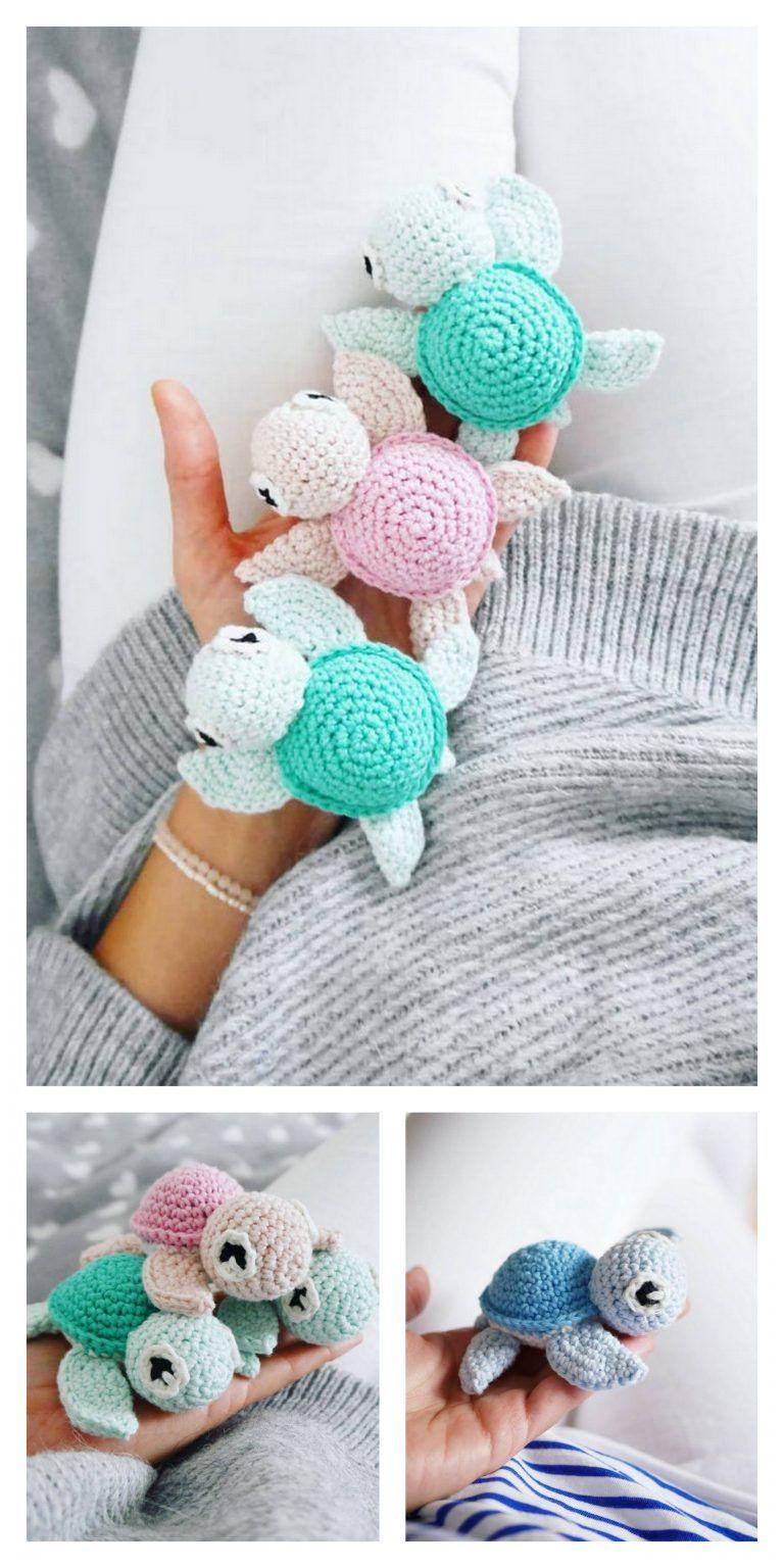 Photo of Amigurumi Cute Turtle Free Pattern – Free Amigurumi Patterns