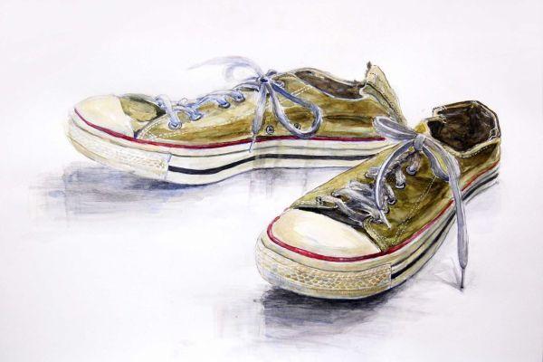 白掌水�y��y��y`�Y��&_生徒作品|靴,画,作品