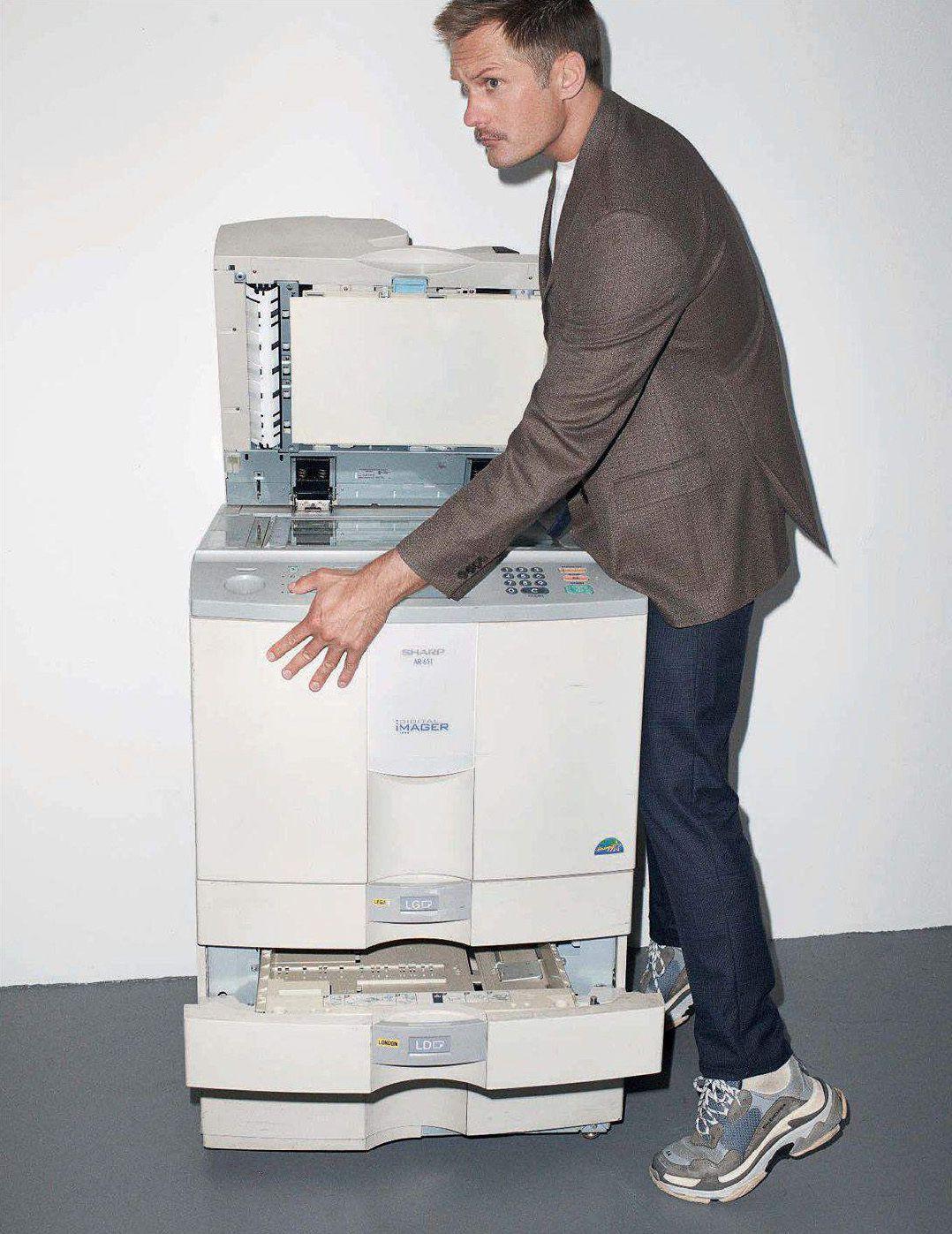 Alexander Skarsgard By Terry Richardson The New Cool Guy