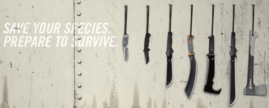 7 Tools to Die For - Gerber Zombie Apocalypse Survival Kit http://redwhiteblue.co/2012/07/gerber-apocalypse-survival-kit/ @Gerber Gear