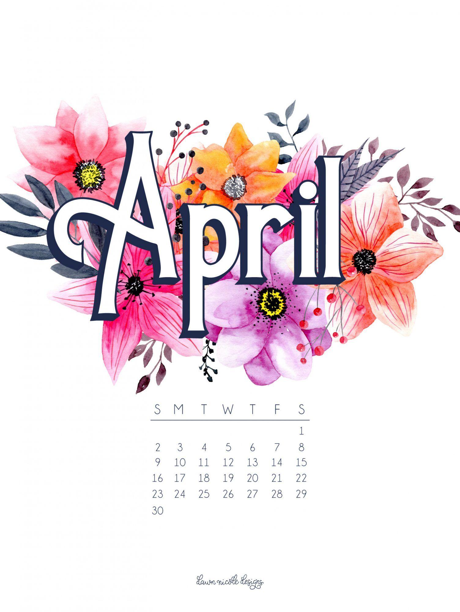 April 2017 Calendar Tech Pretties Calendar Wallpaper
