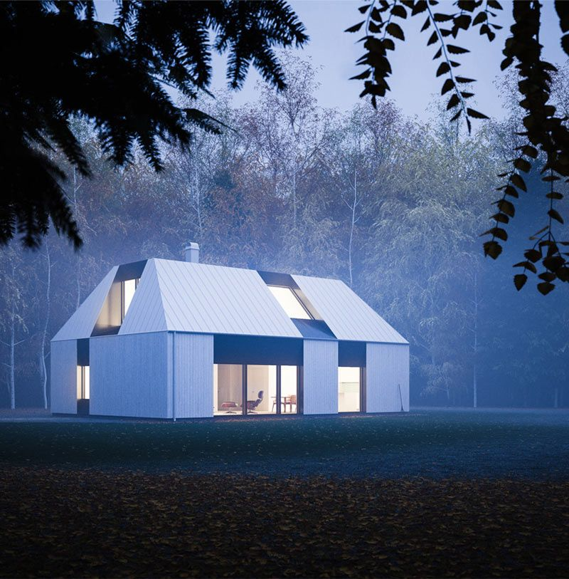 Prefab 6 Claesson Koivisto Run Tind House Design Milk Modern Prefab Homes Prefab Homes Architecture House