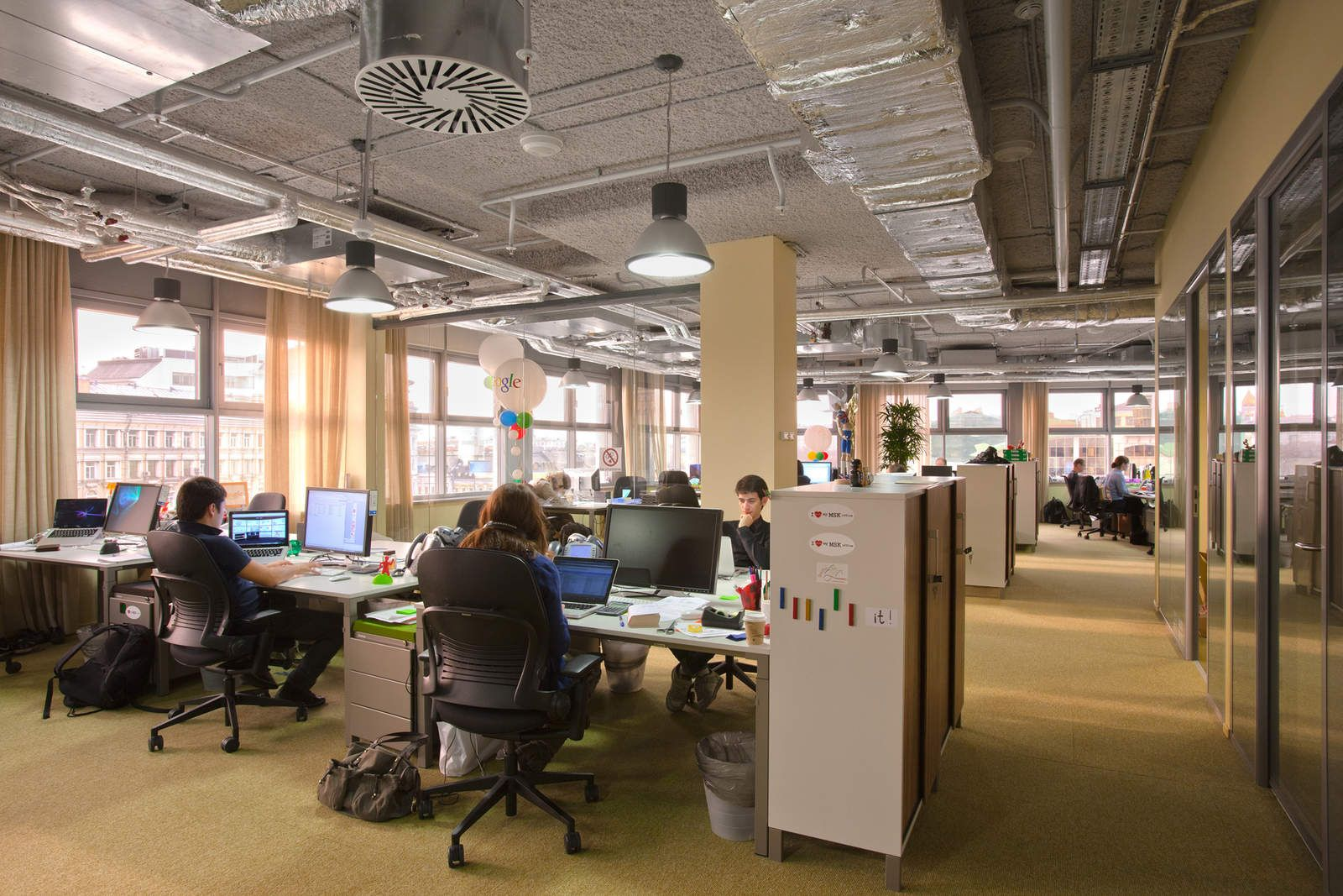 Camenzind Evolution Is An Architectural Office Located In Zurich And Berlin Google Office Office Smart Solutions