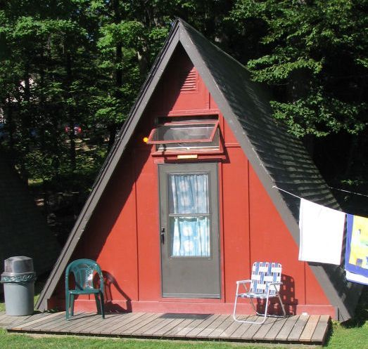 a-frame shed | cabin on a 14x14 base to stay under the 200 sqft ...