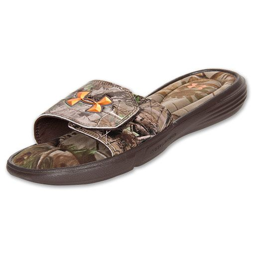 9015375516dc Men s Under Armour Ignite III Camo Slide Sandals