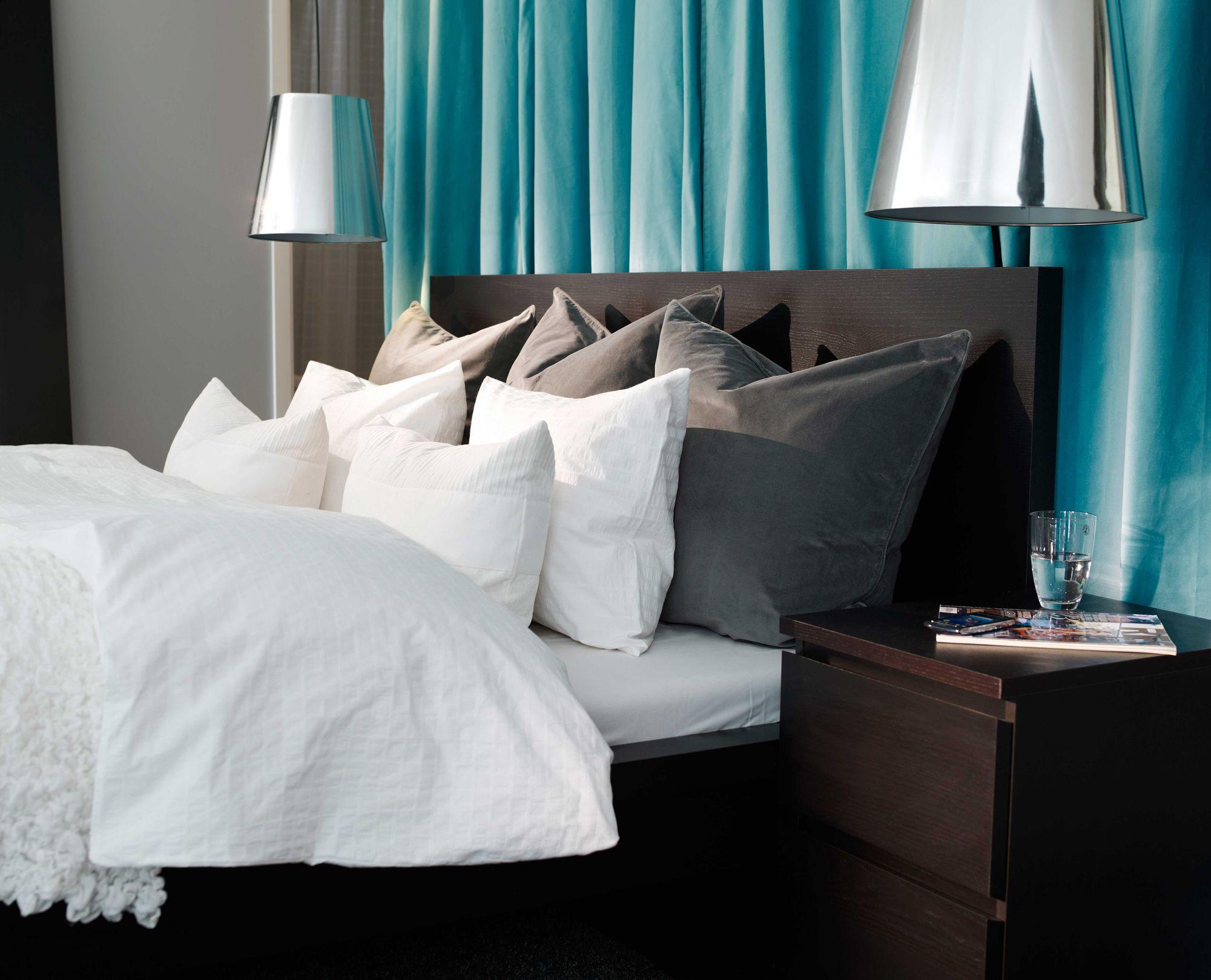 ikea sterreich inspiration textilien lampenschirm gnejs kissen gosa pinje bettgestell malm. Black Bedroom Furniture Sets. Home Design Ideas