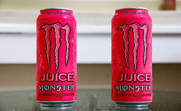 Juice Monster Pipeline Punch Monster Energy Drink Red Bull Drinks Monster