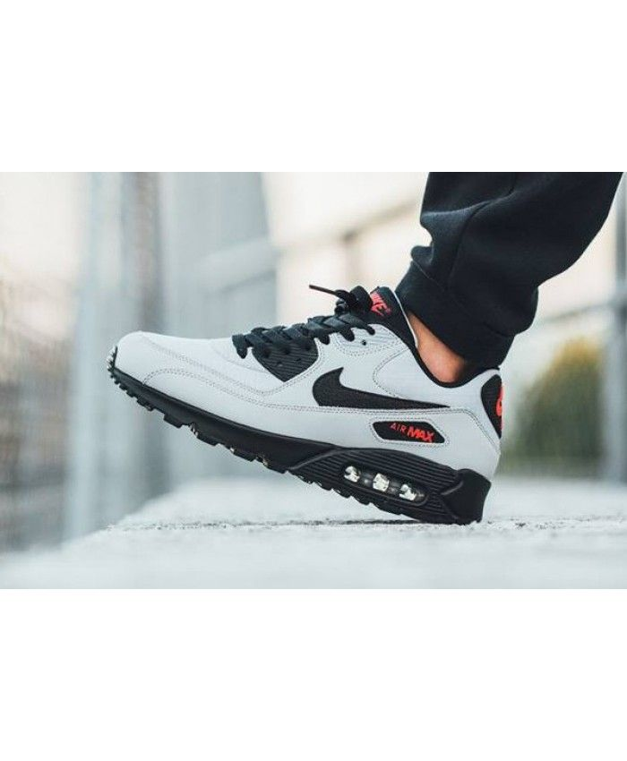 Nike Air Max 90 Ultra Essential Grey White Black Trainers