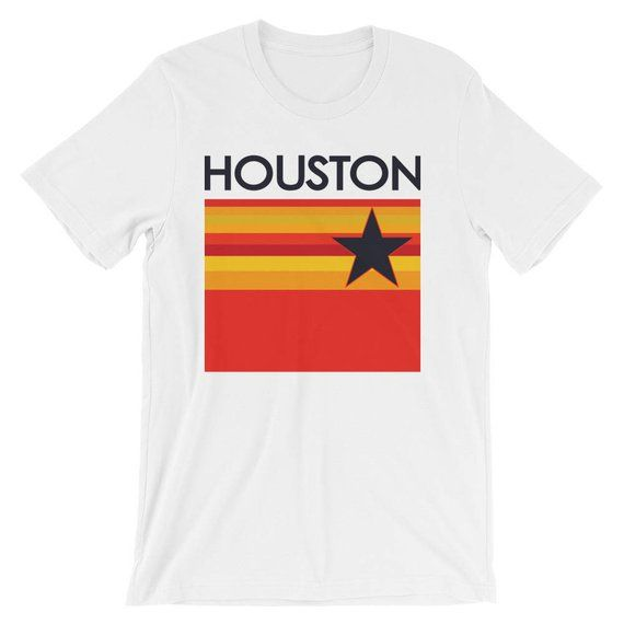best sneakers 6820c 75557 T-Shirts & Tops Houston Astros-Vintage Logo Soft T-Shirt ...