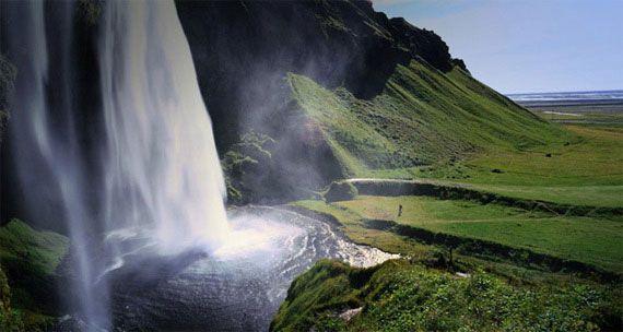 Selyalandfoss Cascada Islandia Mesta Dlya Posesheniya Zamechatelnye Mesta Krasivye Mesta