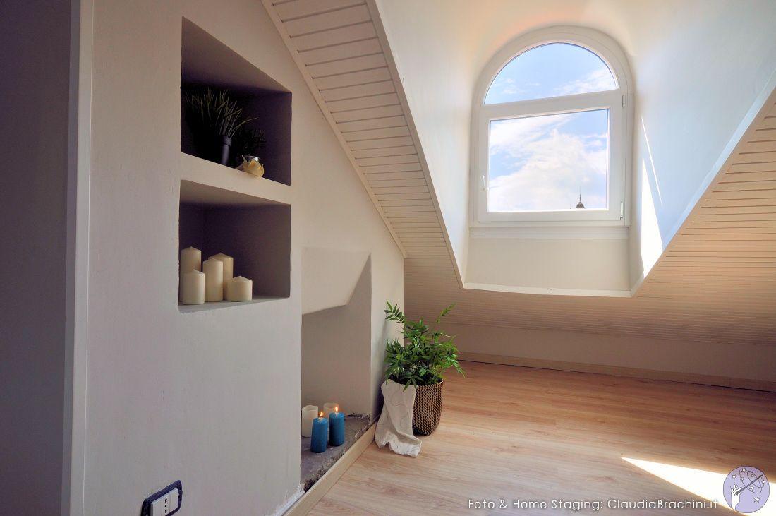 Nicchie mansarda attic camino attic rooftop attico e mansarda