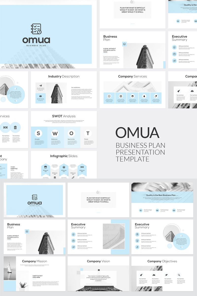 Omua Business Plan Keynote Template 80920 Business plan