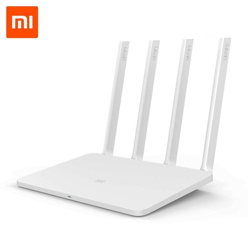 Original Xiaomi WiFi Router 3 English Firmware Version 2.4G/5GHz ...