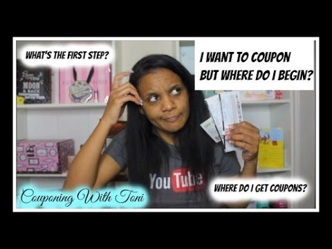 How To Start Couponing (Video Request) | Couponing With Toni