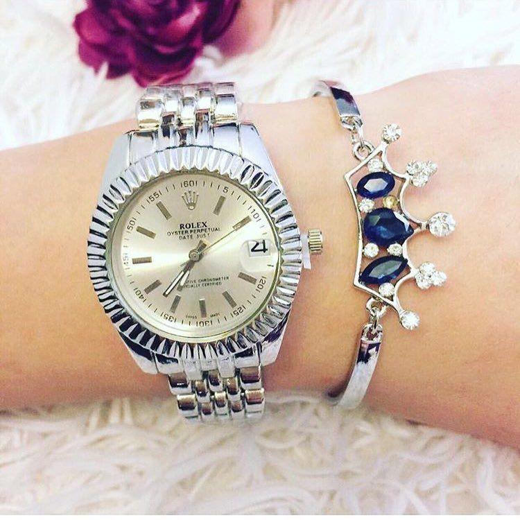 42 Begenme 2 Yorum Instagram 39 Da Gunes Gozlugu Saat Erkek Bayan Isteksaat Quot Rolex Oyster Bayan Kol Women Wrist Watch Silver Watch Bracelet Watch