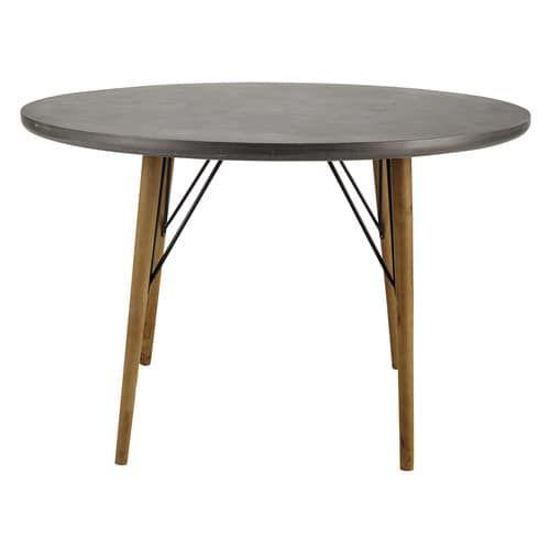 runder esstisch f r 4 personen aus holz d120 einrichten und wohnen pinterest table table. Black Bedroom Furniture Sets. Home Design Ideas