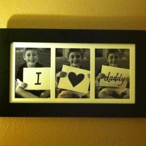 Super cute gift idea! And we could put in new pictures each year with all the kids as the family grows! :)