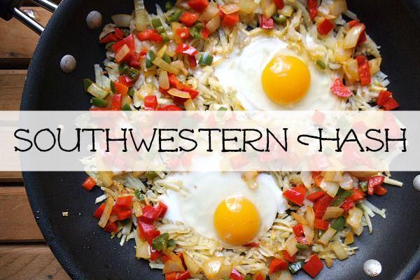 Creatively Delish | Southwestern Hash | http://creativelydelish.com