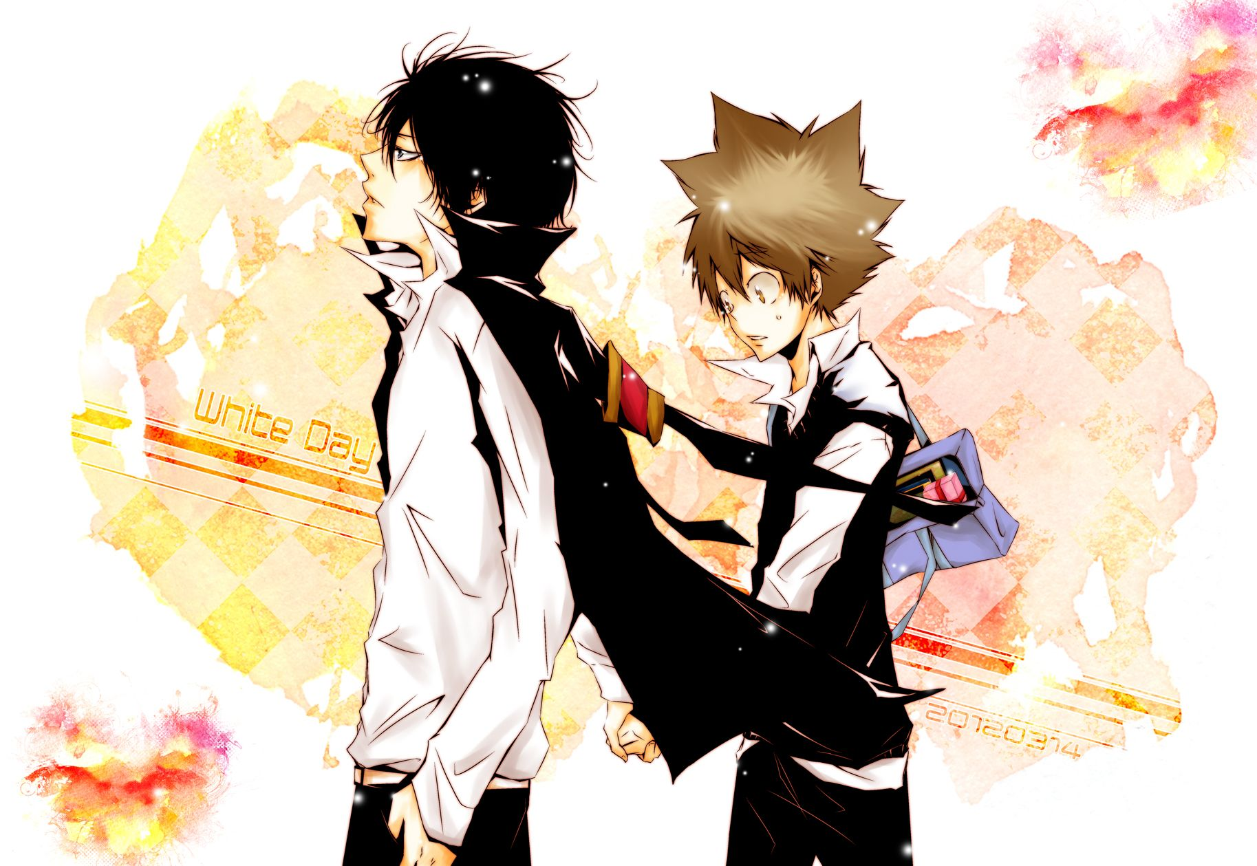 Anime Reborn Season 1 Tags Anime Pixiv Id 1648292 Katekyo
