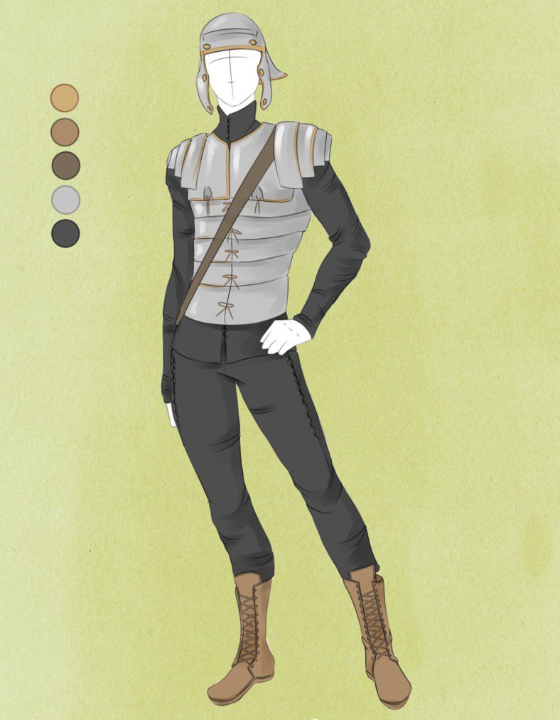 anime winter clothes male