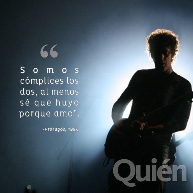 Gustavo Cerati Frase Cerati Frases De Rock Frases De Canciones