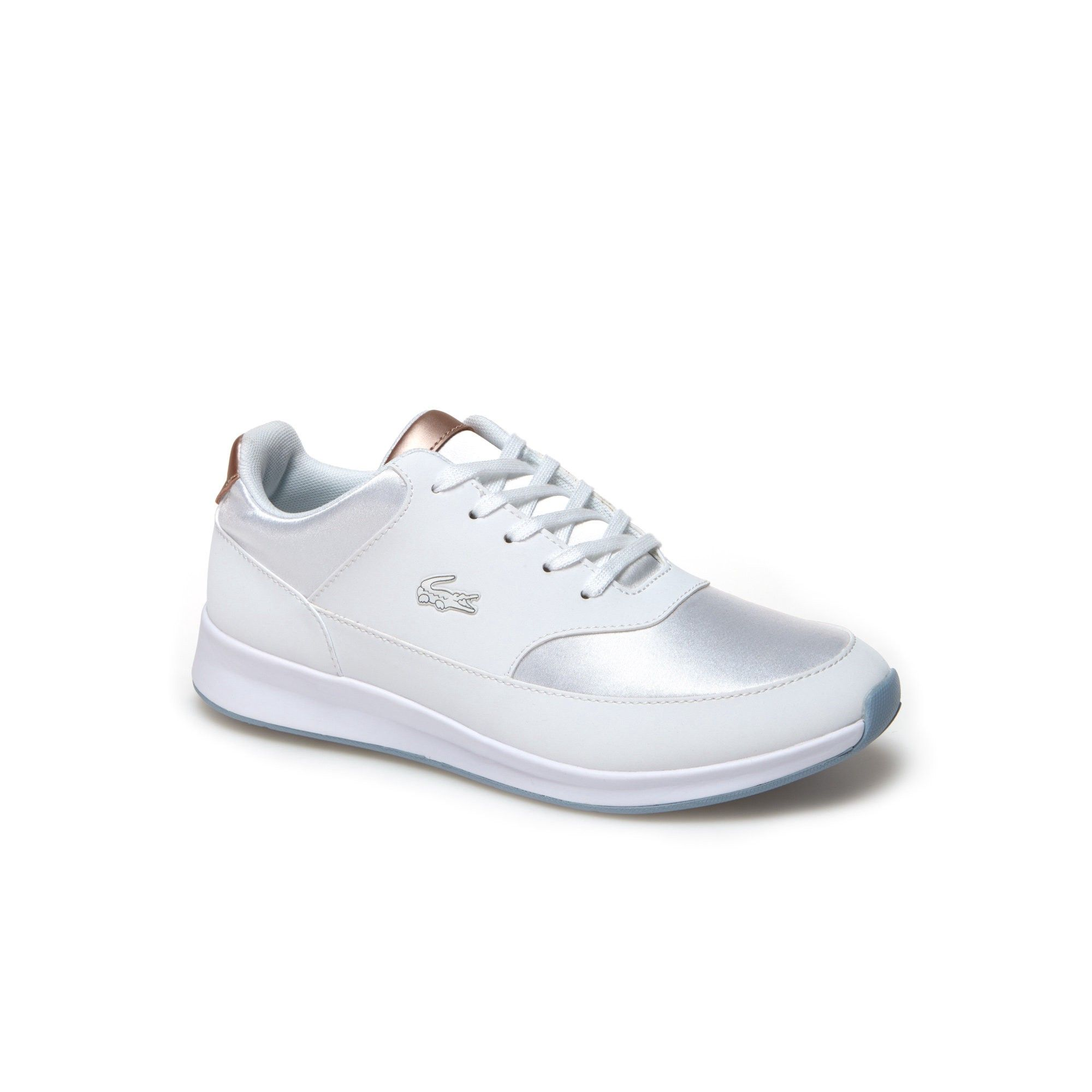 b7e4096ae LACOSTE Women s Chaumont Lace Textile Sneakers - WHITEWHITE.  lacoste  shoes